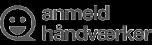 Logo for anmeldhåndværker