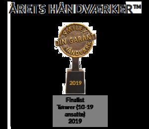 Finalist som årets tømrer 2019